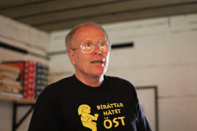 Bosse Almén är en av BNÖs trotjänare och du kan se honom på Stadsmuseet den 24/1.