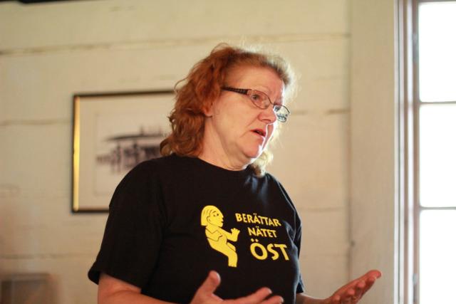 BNÖs förra ordförande Kerttu Jokela träffar du på de flesta arrangemang som föreningen ordnar.