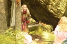 Marina i skogen