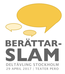 Berättarslam 2017 - Teater Pero, Stockholm, 29 april