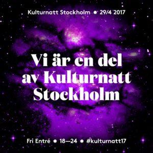 Stockholms Kulturnatt 29 april - Teater Pero berättar vi på!