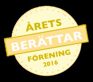 Årets berättarförening 2016 - Berättarnätet Öst