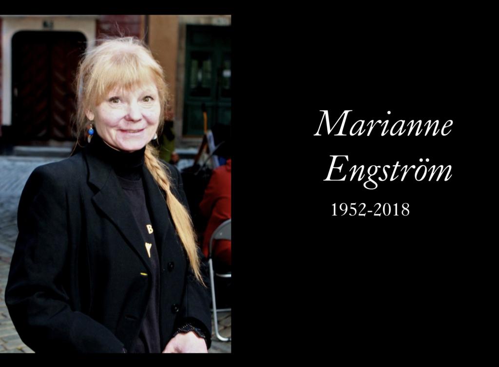 Marianne Engström 1952-2018