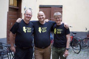 Arrangörsgruppen - Olle, Johan och Pelle